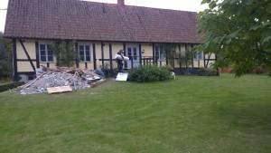 Renovering av Trädgårdsbostaden